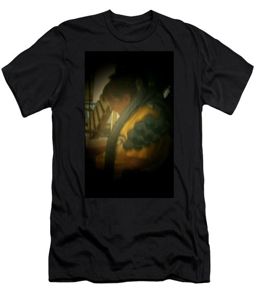 Through The Screen Door Men's T-Shirt (Slim Fit) by Lenore Senior
