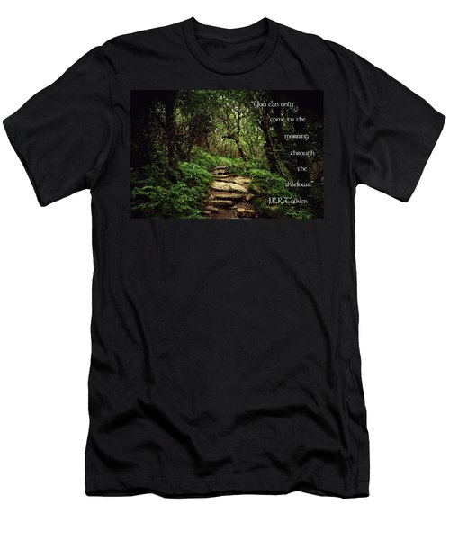Through The Shadows Men's T-Shirt (Athletic Fit)