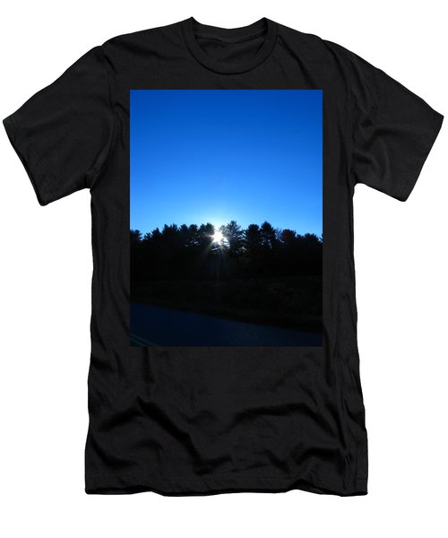 Through The Trees Brightly Men's T-Shirt (Athletic Fit)