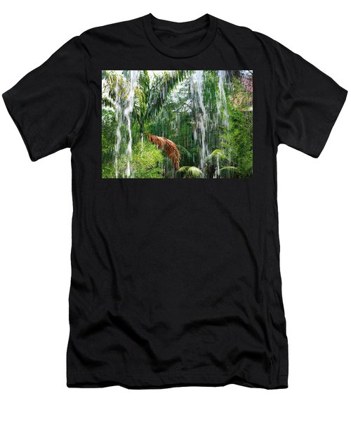 Through The Waterfall Men's T-Shirt (Athletic Fit)