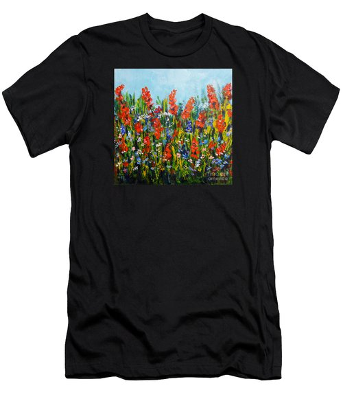Through The Wild Flowers Men's T-Shirt (Athletic Fit)