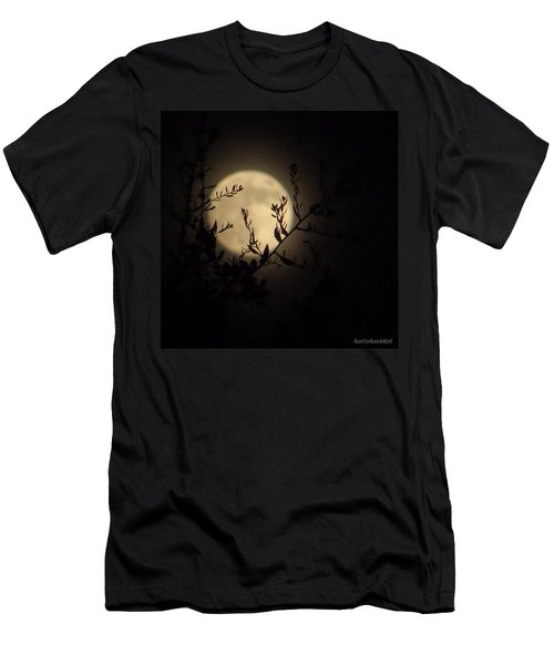 #throwback To Last #night's #moonshine Men's T-Shirt (Athletic Fit)