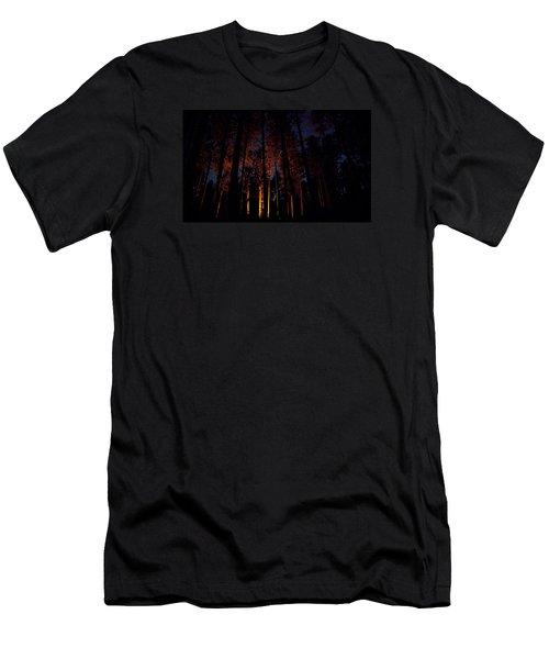 Thru The Dark Men's T-Shirt (Athletic Fit)
