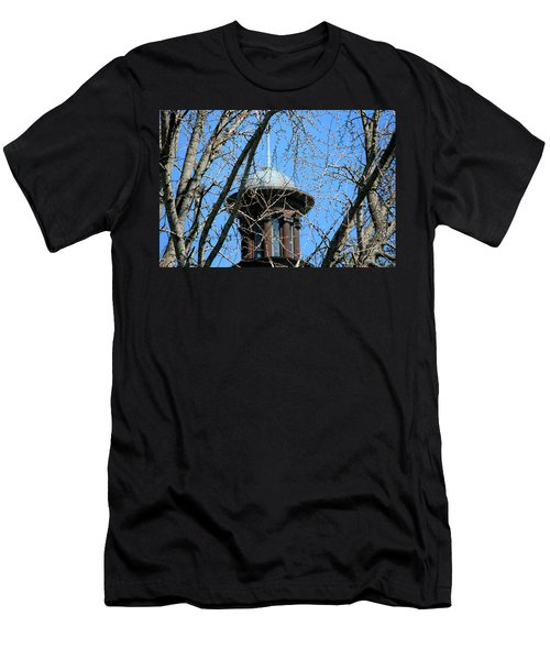 Thru The Trees Men's T-Shirt (Slim Fit) by Cathy Harper