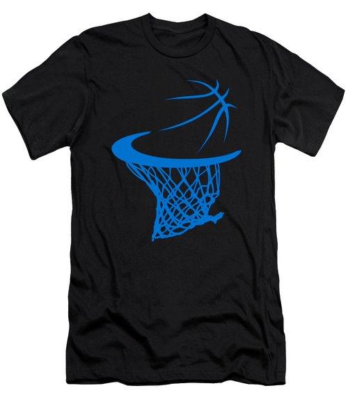 Thunder Basketball Hoop Men's T-Shirt (Athletic Fit)