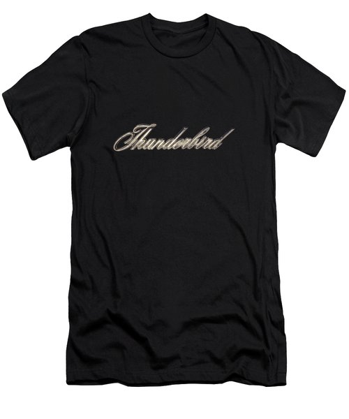 Thunderbird Badge Men's T-Shirt (Athletic Fit)