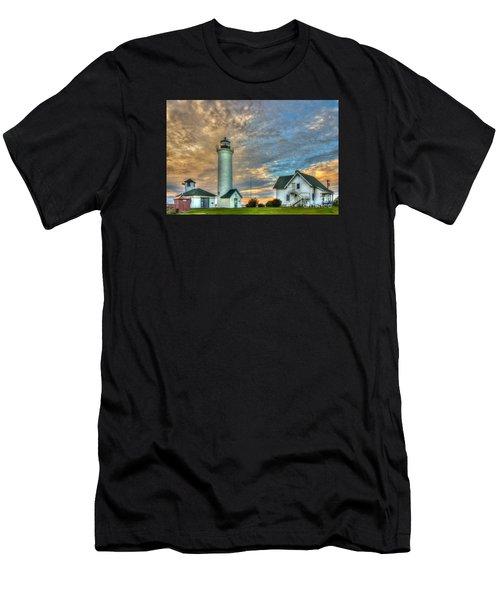Tibbits Point Men's T-Shirt (Athletic Fit)