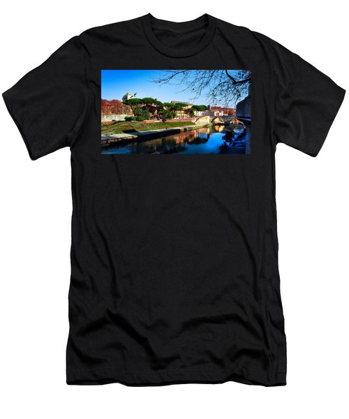Tiber Island Men's T-Shirt (Athletic Fit)