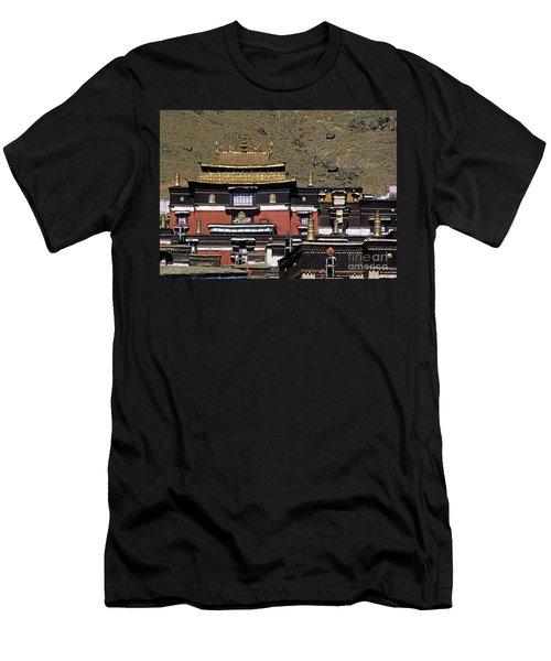Tibet_110-6 Men's T-Shirt (Athletic Fit)