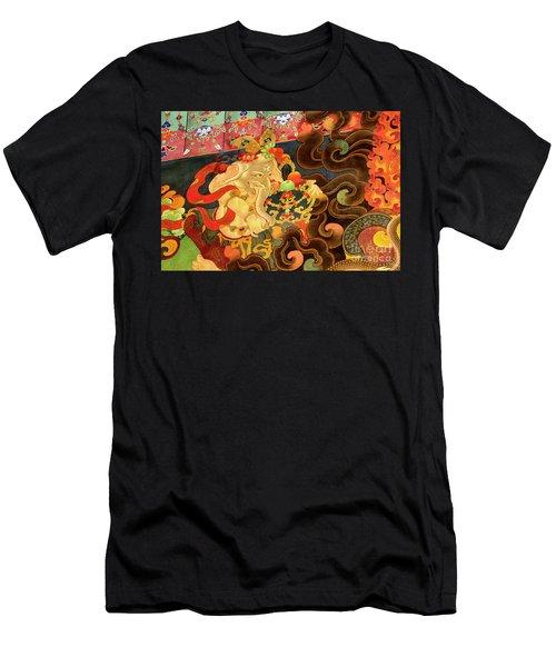 Tibet_162-12 Men's T-Shirt (Athletic Fit)