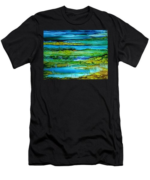 Tidal Pools Men's T-Shirt (Athletic Fit)