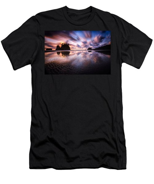 Tidal Reflection Serenity Men's T-Shirt (Athletic Fit)