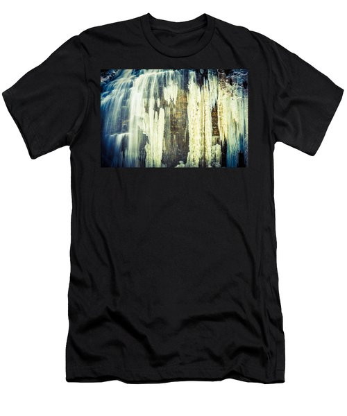 Water And Ice Men's T-Shirt (Athletic Fit)