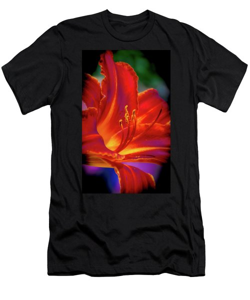 Tiger Lily Men's T-Shirt (Slim Fit) by Mark Dunton