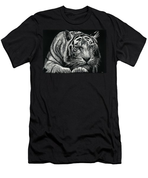 Tiger Pause Men's T-Shirt (Athletic Fit)