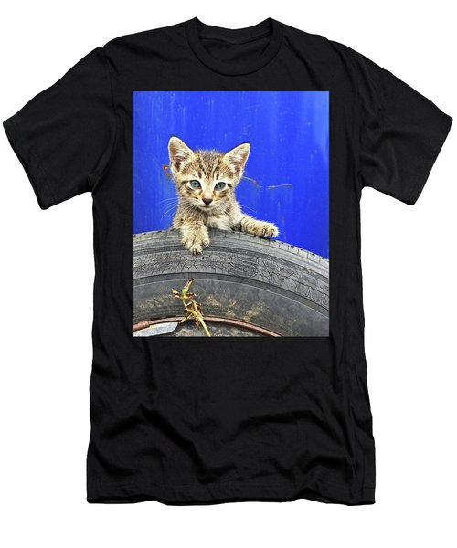 Tiger Paw Men's T-Shirt (Athletic Fit)
