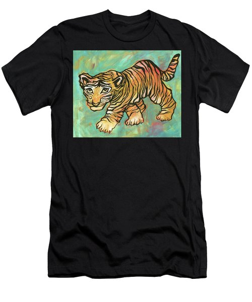 Tiger Trance Men's T-Shirt (Athletic Fit)
