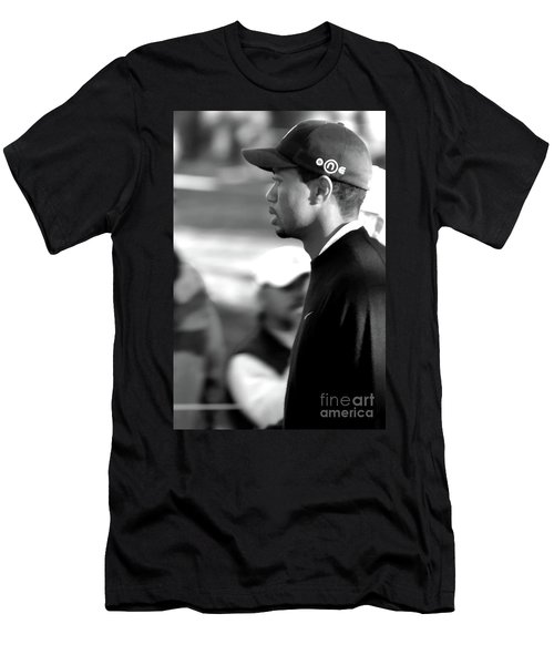 Tiger Woods Bw 2005 Men's T-Shirt (Athletic Fit)