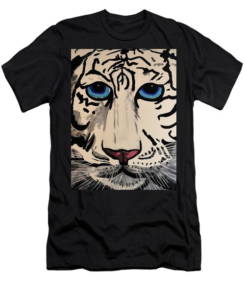 Tigger Men's T-Shirt (Slim Fit) by Nora Shepley