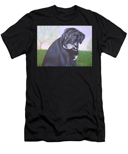 Tiko, Lovable Family Pet. Men's T-Shirt (Athletic Fit)