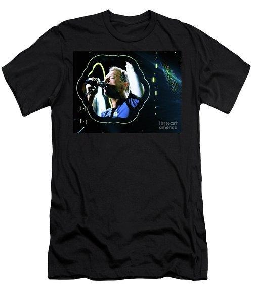 Chris Martin - A Head Full Of Dreams Tour 2016  Men's T-Shirt (Athletic Fit)