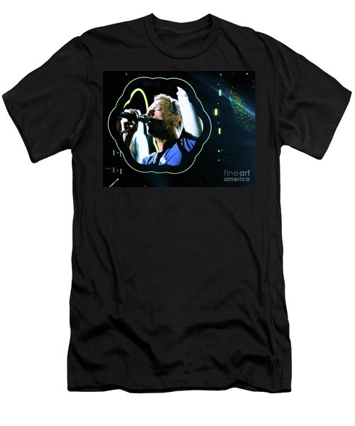 Chris Martin - A Head Full Of Dreams Tour 2016  Men's T-Shirt (Slim Fit)