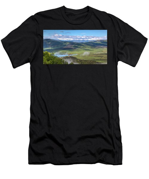 Timbers View  Men's T-Shirt (Athletic Fit)