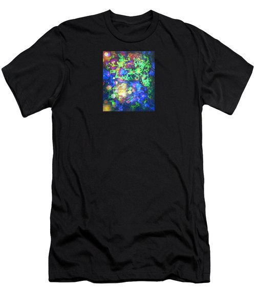 Men's T-Shirt (Slim Fit) featuring the photograph Chaos by Robin Regan