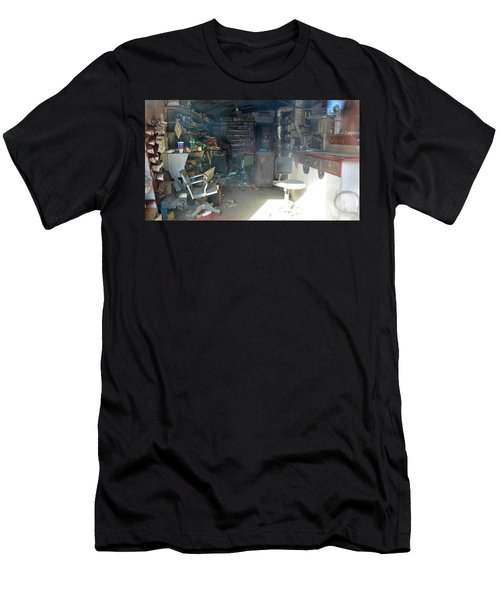 Time Capsule  Men's T-Shirt (Athletic Fit)