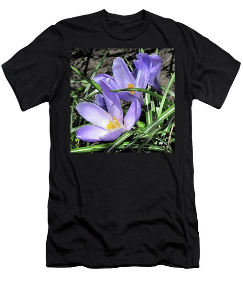 Time For Crocuses Men's T-Shirt (Athletic Fit)