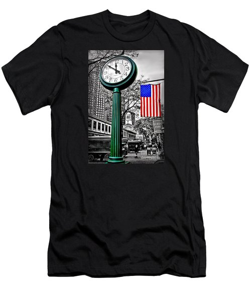 Time For Lunch Men's T-Shirt (Athletic Fit)