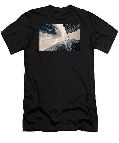 Time Frame Men's T-Shirt (Slim Fit) by Iryna Goodall
