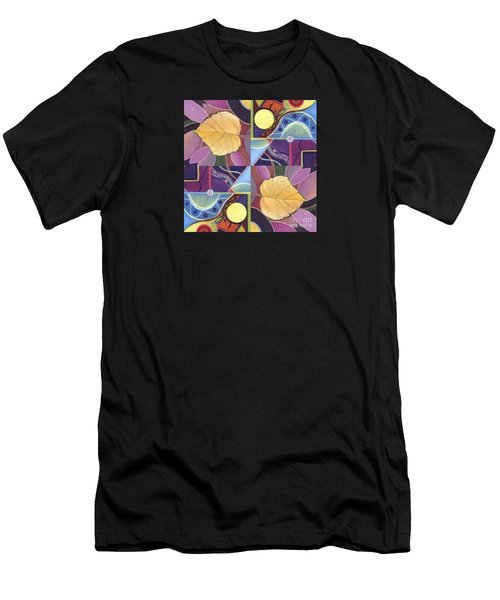 Time Goes By - The Joy Of Design Series Arrangement Men's T-Shirt (Athletic Fit)