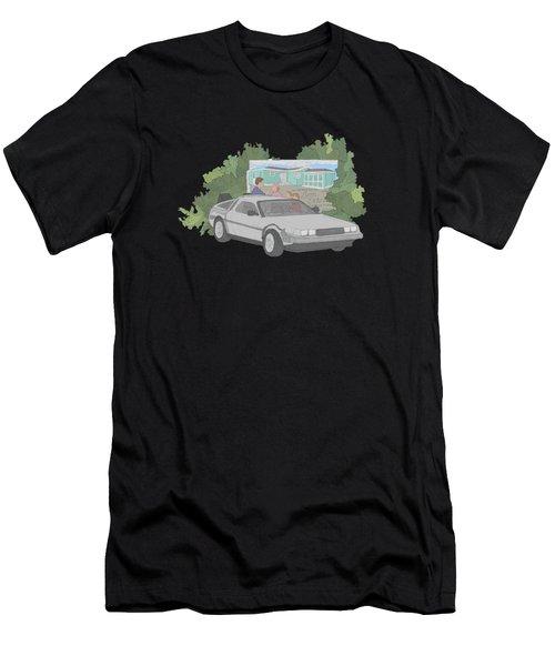 Time Machine Men's T-Shirt (Athletic Fit)