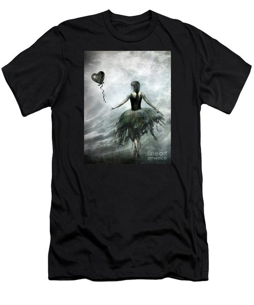 Time To Let Go Men's T-Shirt (Slim Fit) by Jacky Gerritsen