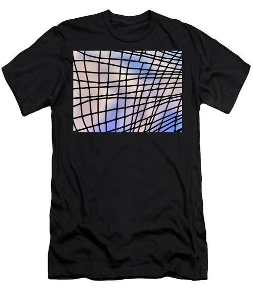 Men's T-Shirt (Athletic Fit) featuring the photograph Time Warp by Paul Wear