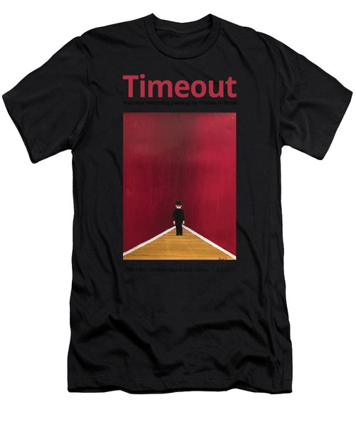 Timeout T-shirt Men's T-Shirt (Athletic Fit)