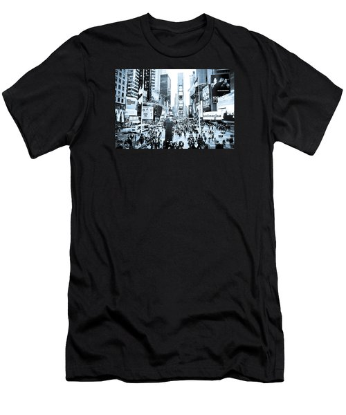 Times Square Men's T-Shirt (Slim Fit) by Perry Van Munster