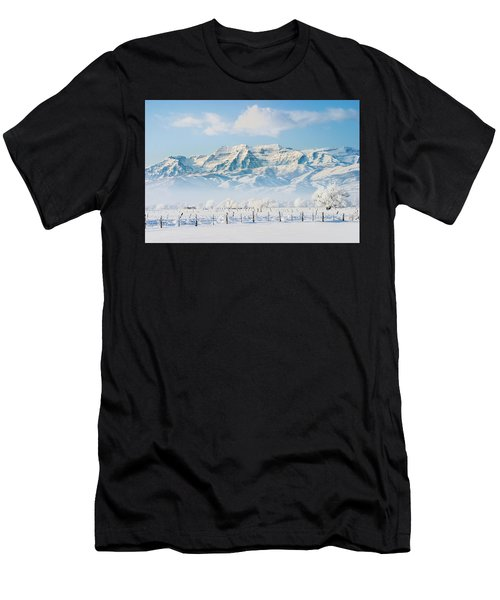 Timp In Winter Men's T-Shirt (Athletic Fit)
