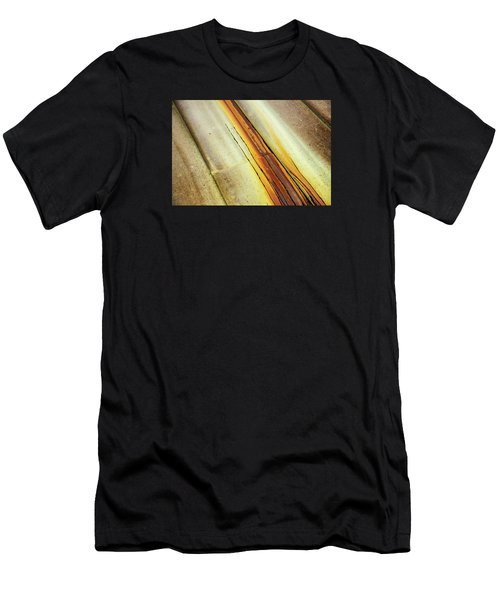 Tin Roof Abstract Men's T-Shirt (Athletic Fit)