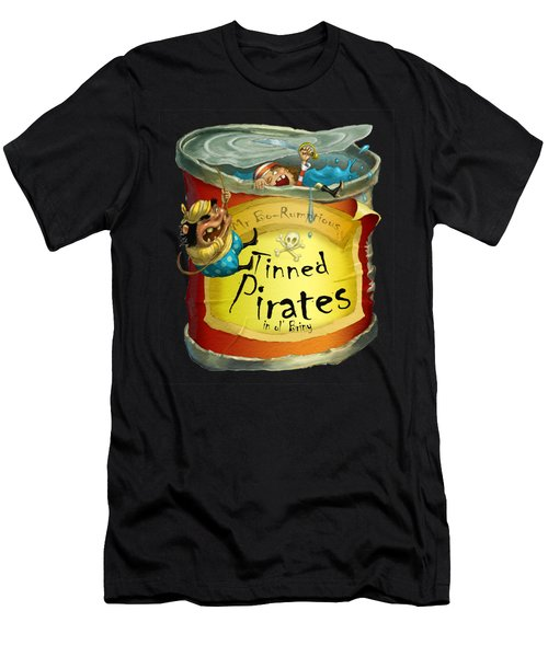 Tinned Pirates Men's T-Shirt (Athletic Fit)