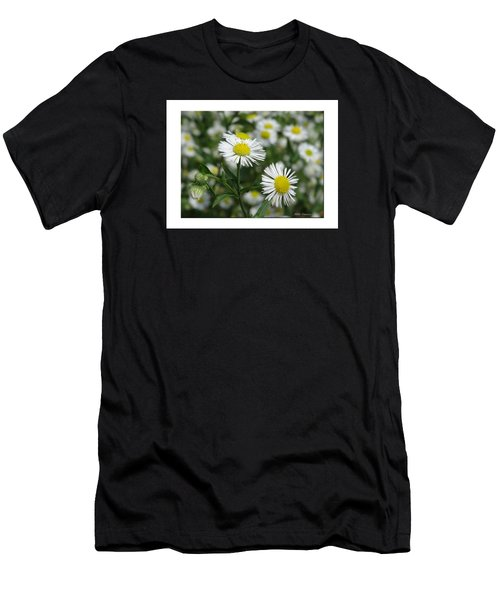Tiny Flowers Men's T-Shirt (Athletic Fit)