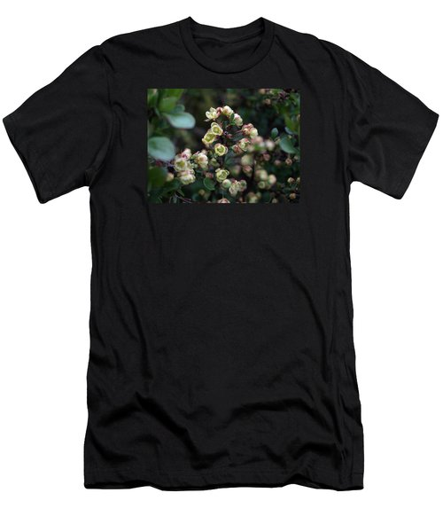 Tiny Flowers Men's T-Shirt (Slim Fit) by Richard Brookes