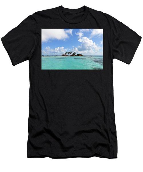 Tiny Island Men's T-Shirt (Athletic Fit)