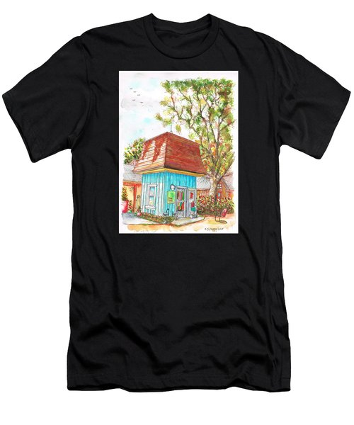 Tiny Tree Boutique In Los Olivos, California Men's T-Shirt (Athletic Fit)