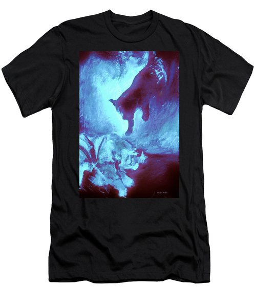 Tip Toeing On Little Cat Feet Men's T-Shirt (Athletic Fit)