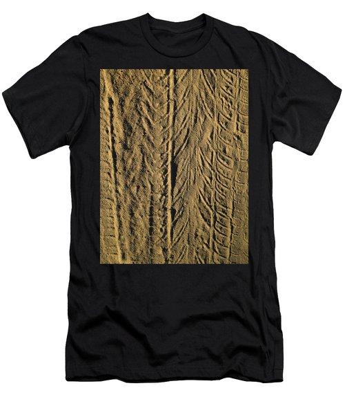 Tire Tracks Men's T-Shirt (Athletic Fit)
