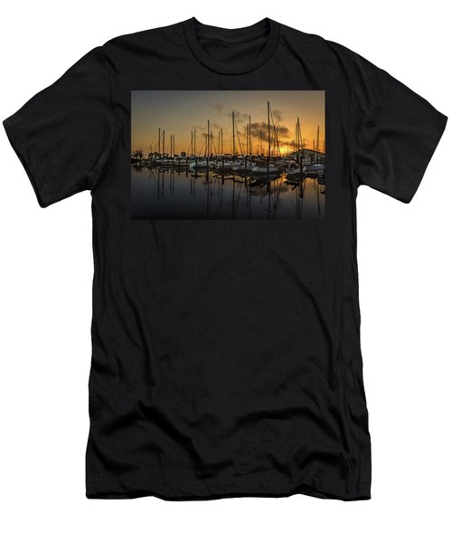 Titusville Marina Men's T-Shirt (Athletic Fit)