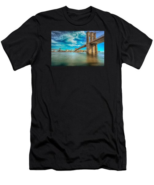 To Brooklyn And Back Men's T-Shirt (Athletic Fit)