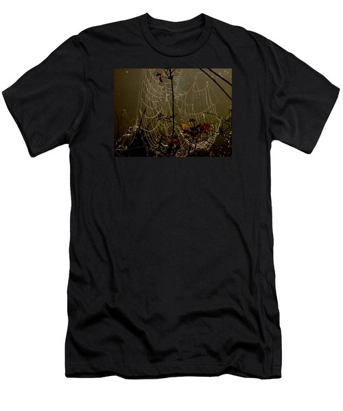 Orb Lites Men's T-Shirt (Slim Fit) by Laura Ragland